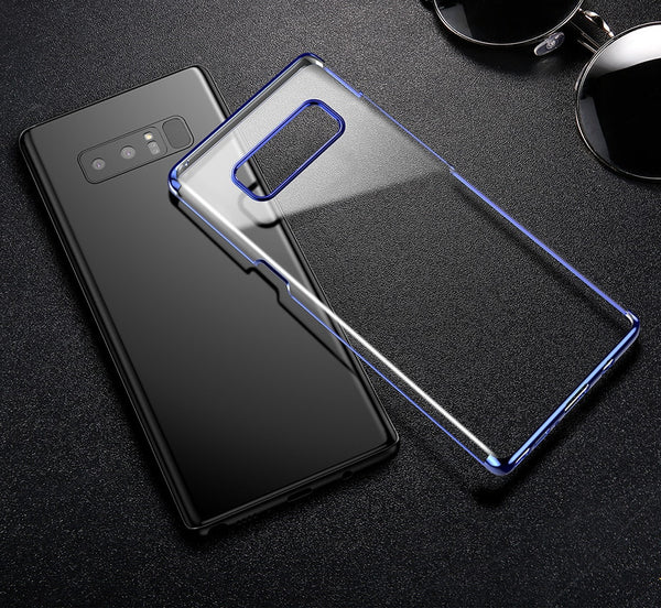 Premium High-End Electroplated Anti-Scratch Shockproof Back Case Cover for Samsung Galaxy Note 8
