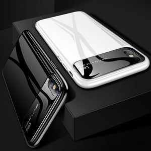 Luxury Smooth Mirror Camera Lens Anti Scratch Back Case or Apple iPhone XS Max