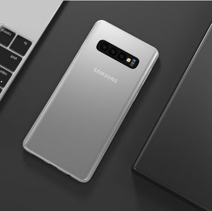 Premium Ultra Slim 0.3mm Air Series Matte Finish Soft TPU Gothic Case For Samsung Galaxy S10