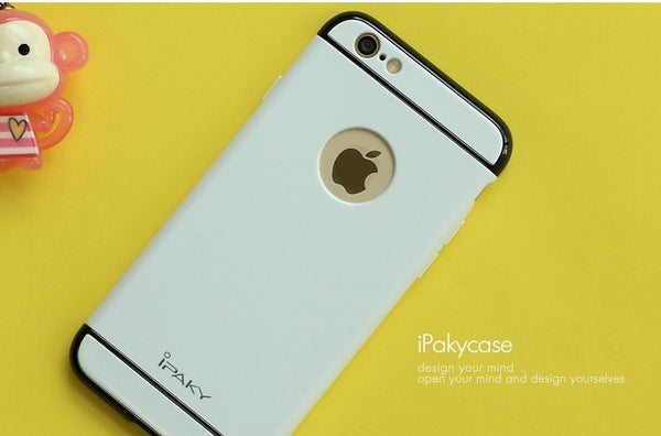 IPAKY Fruit Color 360 3in1 Dual Hybrid Back Case Cover for Apple iPhone 6 Plus