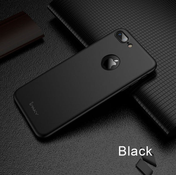 Premium Matte Finish 360 Full Body Protection Front + Back Cover for Apple iPhone 7 Plus