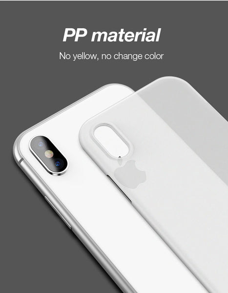 Premium Feather Light Paper Thin 0.2mm Protection Case for Apple iPhone XS Max