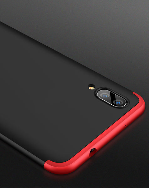 Premium Ultra Slim 3in1 360 Body Full Protection Hard Matte Front + Back Cover for Vivo X21