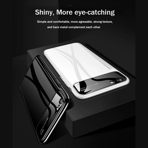 Ultra Luxury Anti Scratch Protection Smooth Mirror Camera Lens Back Case Cover for Apple iPhone 6 / 6S
