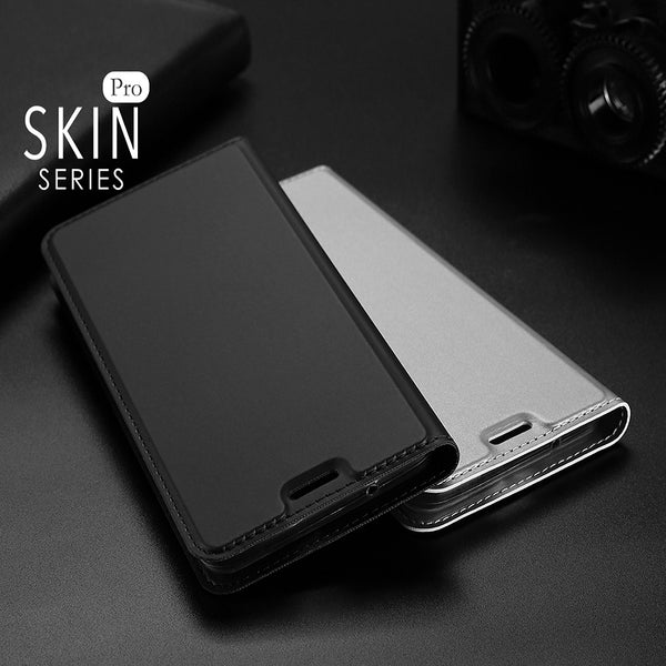 Luxury Smooth & Silky Skin Series PU Leather Wallet Flip Case Cover Folio for Google Pixel 2