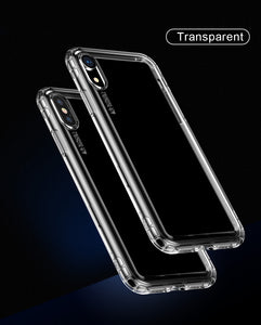Premium Clear Transparent Airbag Safety Anti Fall Prevention Case for Apple iPhone XR