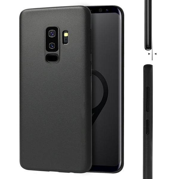 Premium Ultra Slim 0.3mm Air Series Matte Finish Soft TPU Gothic Case For Samsung Galaxy S9 Plus