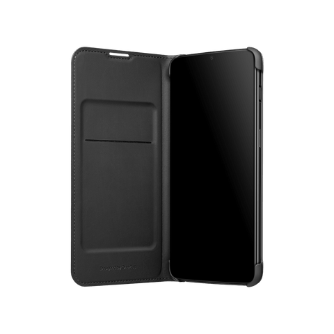 Luxury PU Leather Wallet Smart Auto Sleep Wake Up Sensor Flip Case Cover for OnePlus 6T / One Plus 6T / 1+6T - Black