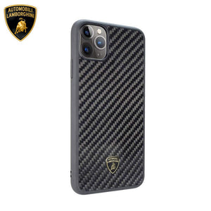 Lamborghini® Elemento D3 Genuine Carbon Fibre Case for Apple iPhone 11