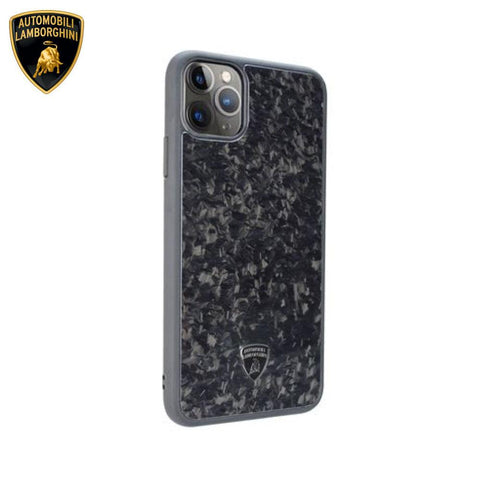 Lamborghini® Elemento D14 Genuine Forged Carbon Fibre Case for Apple iPhone 11 Pro