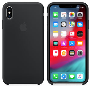 Premium Shockproof Soft Liquid Silicone Case Bumper Back Cover for Apple iPhone X / XS