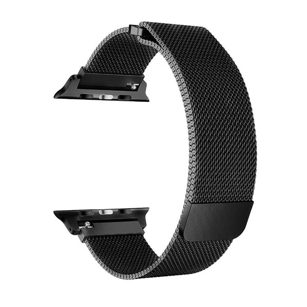 Luxury Artistic Stainless Steel Milanese Loop Watch Strap for Apple iWatch Series 1,2,3 - [38mm]