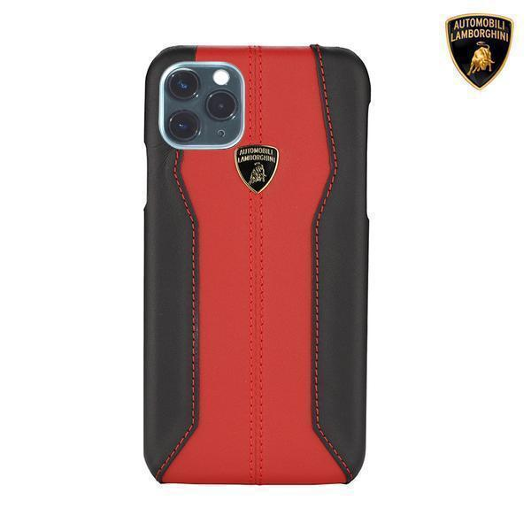 Lamborghini® Huracan D1 Genuine Leather Case for Apple iPhone 11 Pro