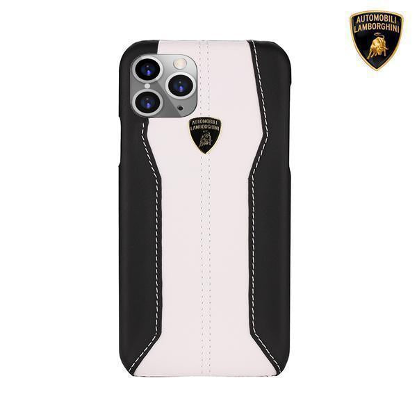 Lamborghini® Huracan D1 Genuine Leather Case for Apple iPhone 11
