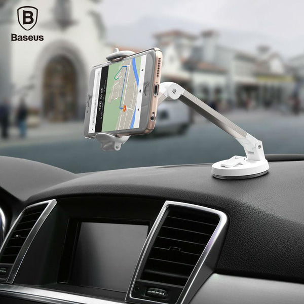 Baseus 360 Degree Rotation Portable Lazy Bracket Universal Phone Holder for Any Place - SILVER