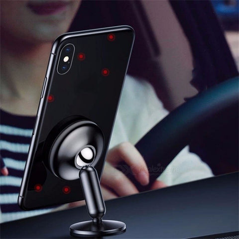 Baseus Universal Mobile Phone Stand 360 Degree Magnetic Phone Holder Car Mount Holder