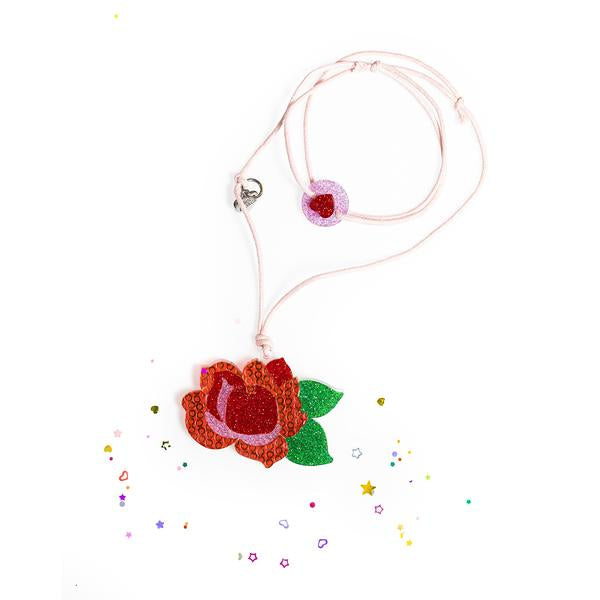 Rose Necklace -  Lilies & Roses NY