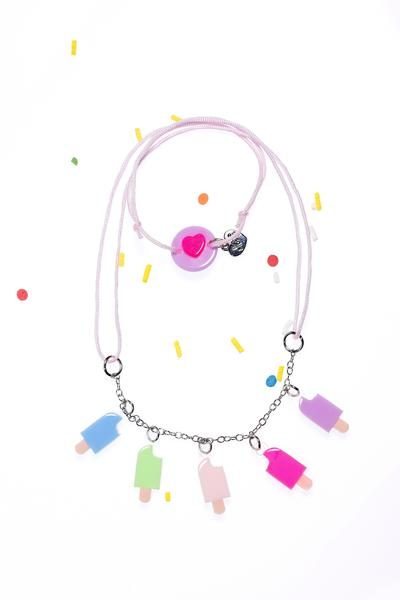 Mini Popsicles Necklace -  Lilies & Roses NY