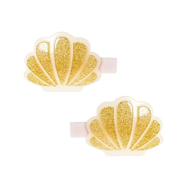 Seashell Alligator Clip -  Lilies & Roses NY