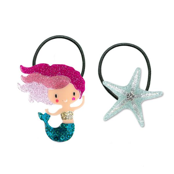 Mermaid + Starfish Ponytails -  Lilies & Roses NY