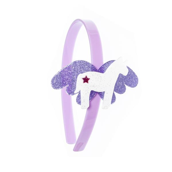 Big Winged - Unicorn Headband -  Lilies & Roses NY