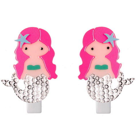 Mermaid Hair Clips -  Lilies & Roses NY