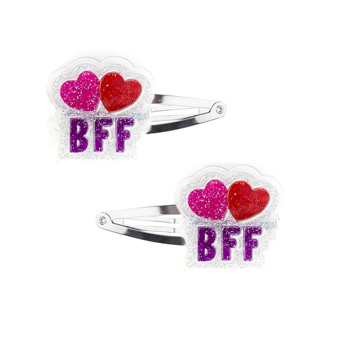 BFF Hair Clips -  Lilies & Roses NY