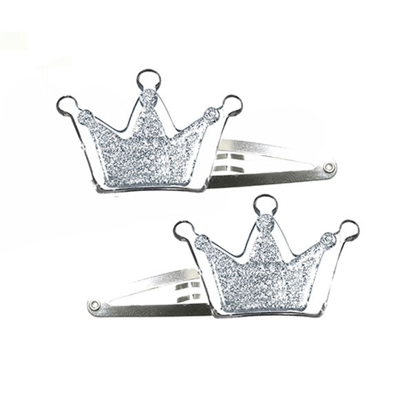 Crown Hair Clips -  Lilies & Roses NY