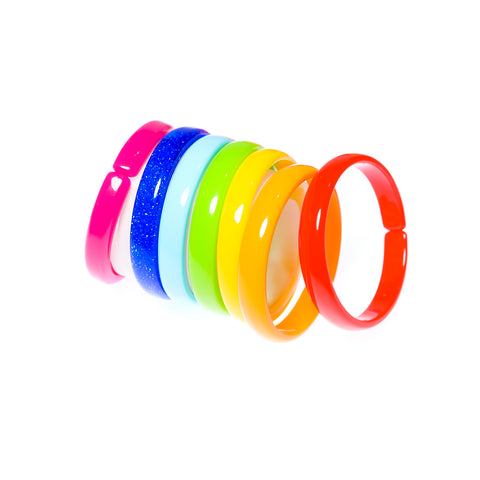 Rainbow Bracelets - buy six get one free