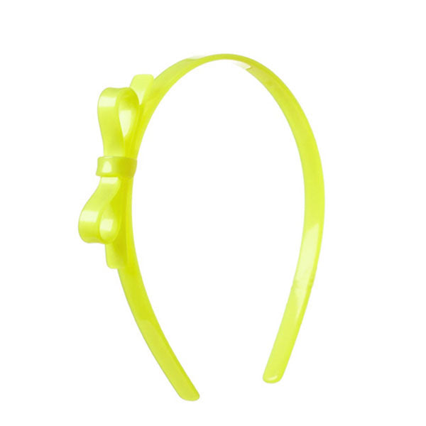 Thin Bow Headband - Neon Colors -  Lilies & Roses NY