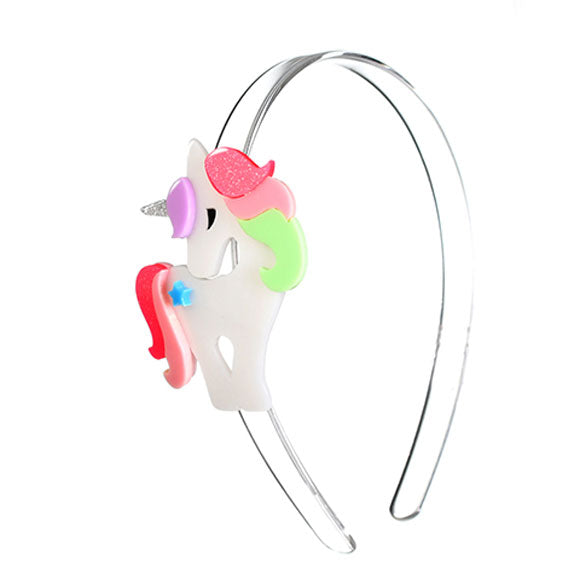 Unicorn, headband, hair accessories, colorful, pastel, bright