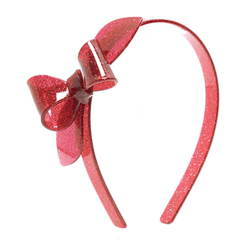 Rosane Bow Headband - Glitter Colors -  Lilies & Roses NY