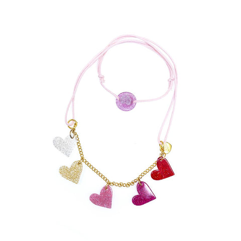 Bright Hearts Necklace