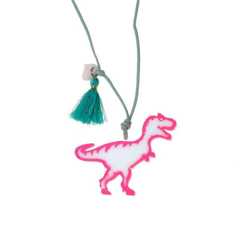 Dinosaur Necklace -  Lilies & Roses NY