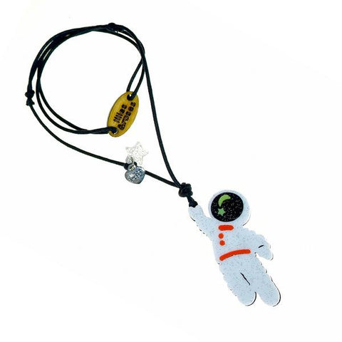 Astronaut Necklace -  Lilies & Roses NY