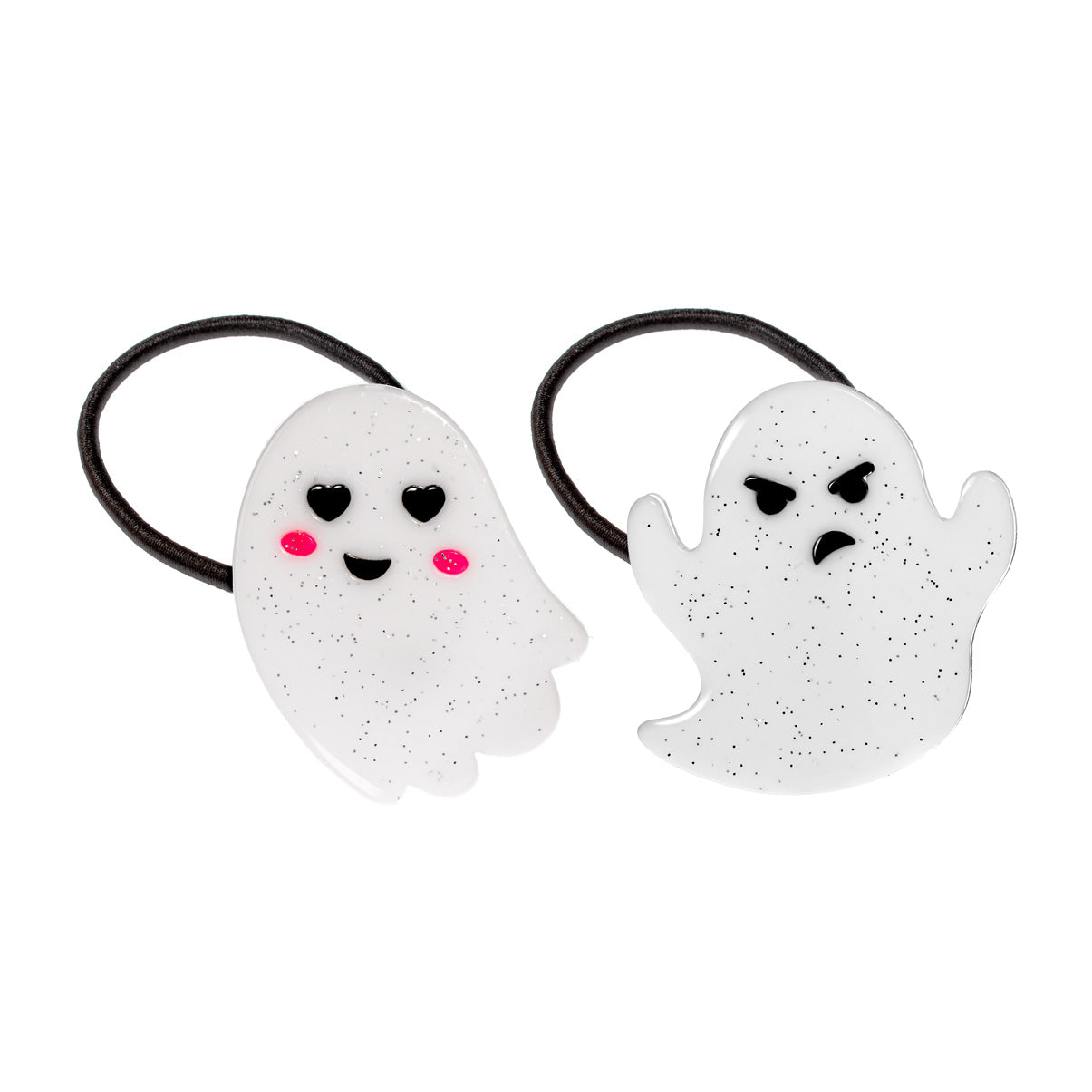 Cute Ghosts Halloween Ponytail
