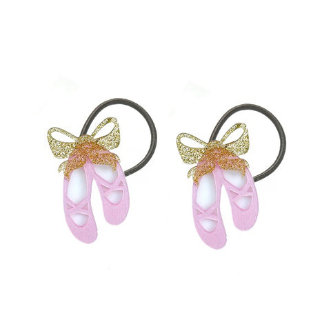 Ballet Slippers Ponytails -  Lilies & Roses NY