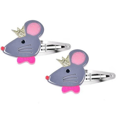 Cinderella Mouse Snap Clip -  Lilies & Roses NY