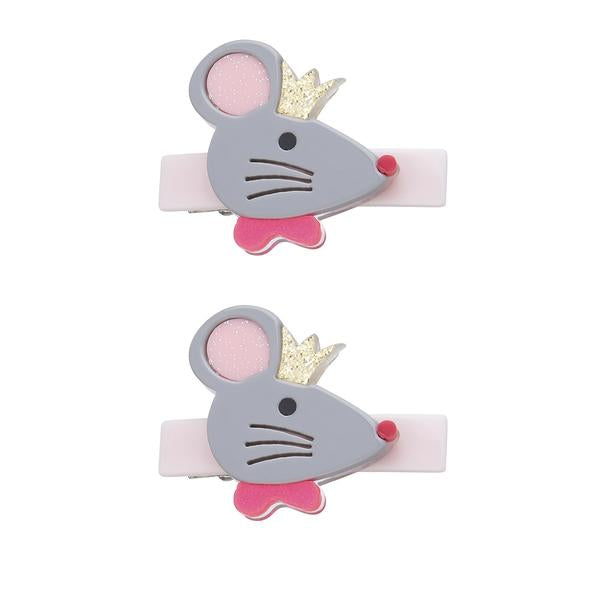 Cinderella Mouse Hair Clip -  Lilies & Roses NY