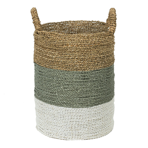 Barang seagrass storage basket.  Perfect for laundry