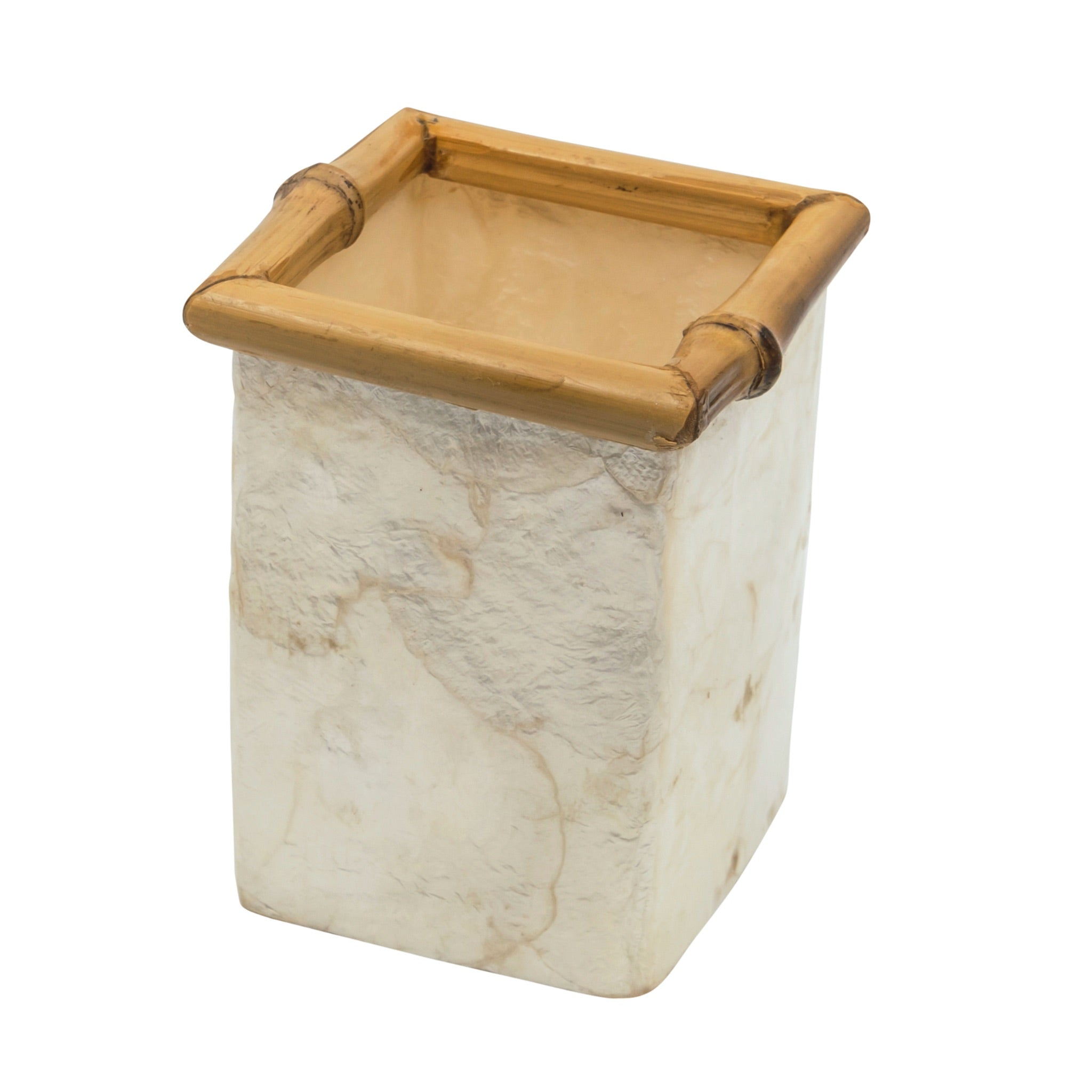 Capiz Pencil Pot