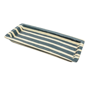 Jalur Striped Platter