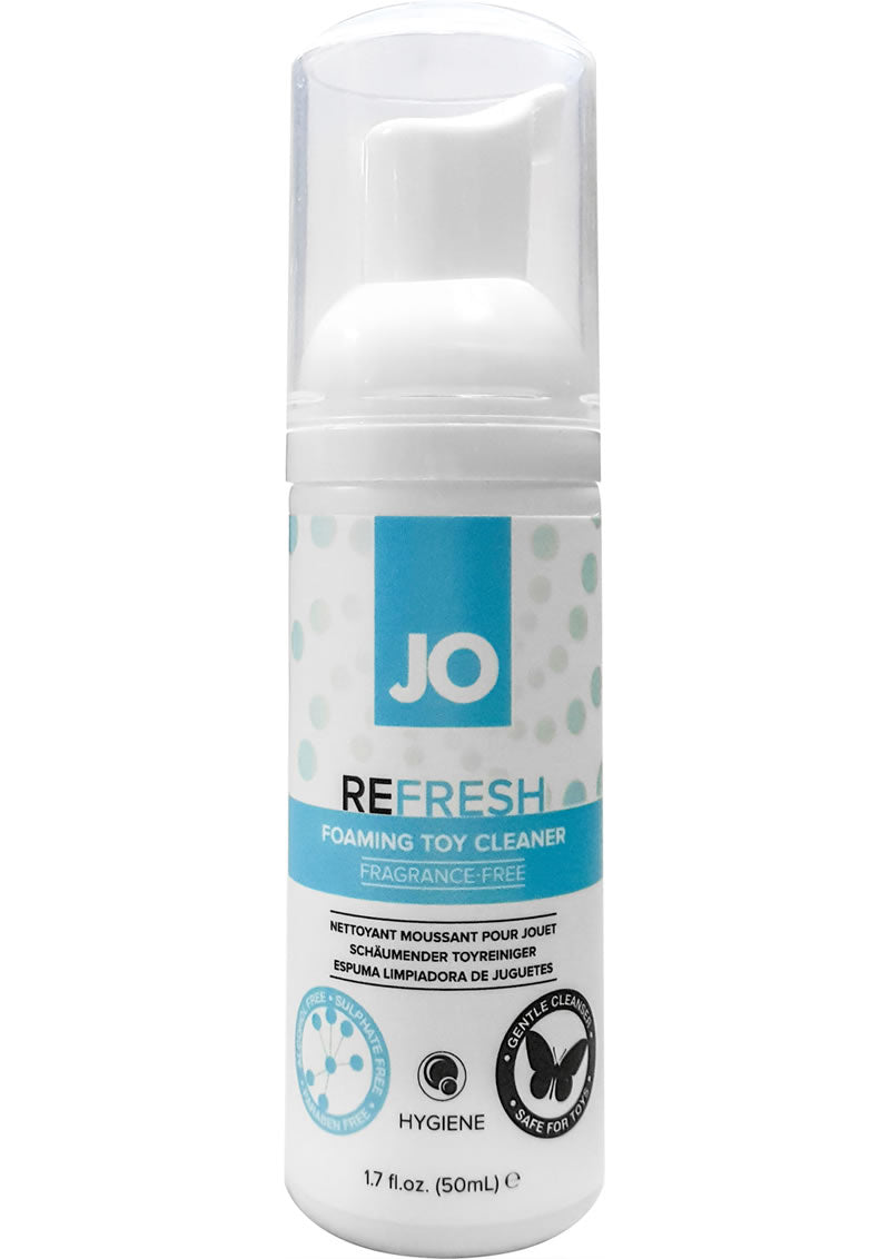 JO Refresh Foaming Toy Cleaner Fragrance Free 1.7oz