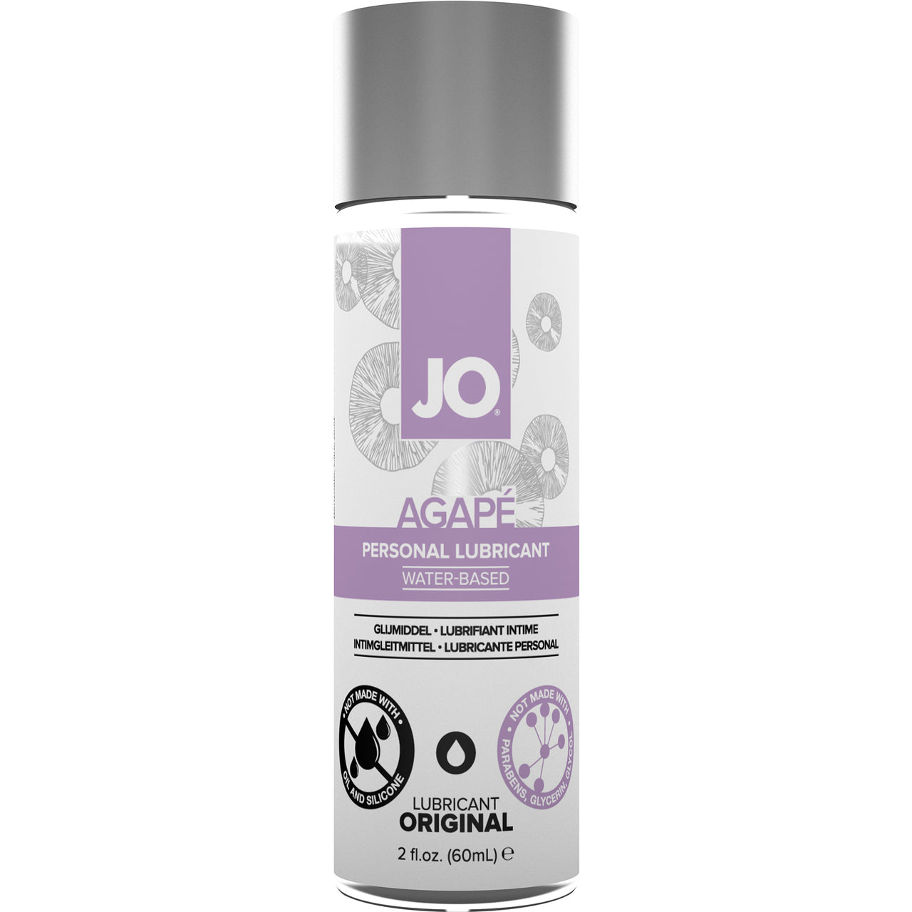 JO Agape Water Based Lubricant 2oz