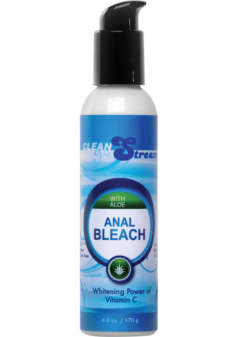 Cleanstream Anal Bleach With Vitamin C And Aloe 6oz - Blue