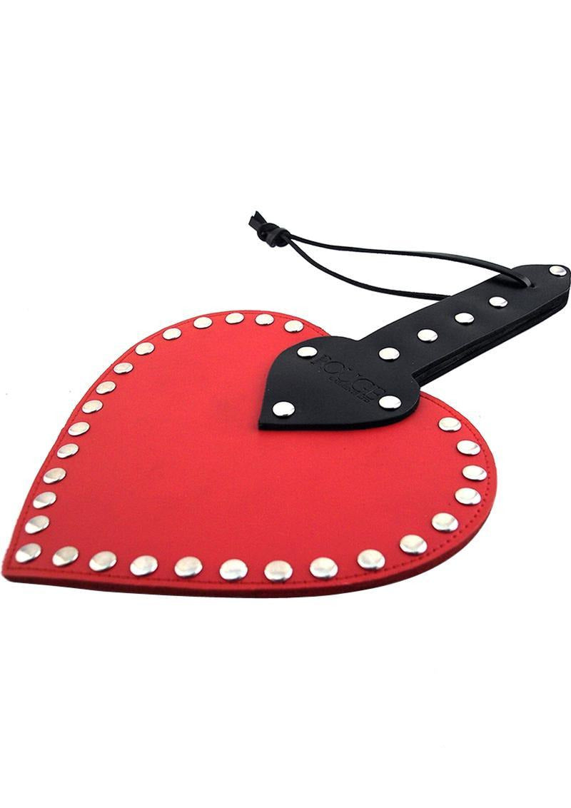 Rouge Heart Paddle - Red/Black