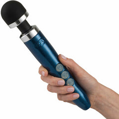 Doxy Die Cast 3R Rechargeable Wand Massager - Blue