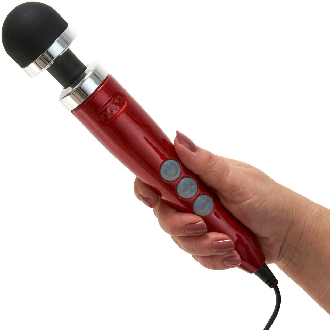 Doxy Die Cast 3 Wand Body Massager - Red