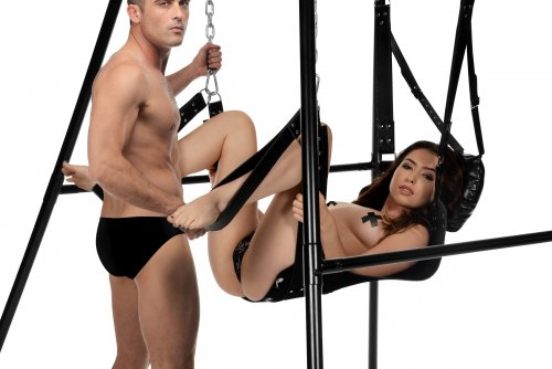 Strict Extreme Sling and Swing Stand - Black