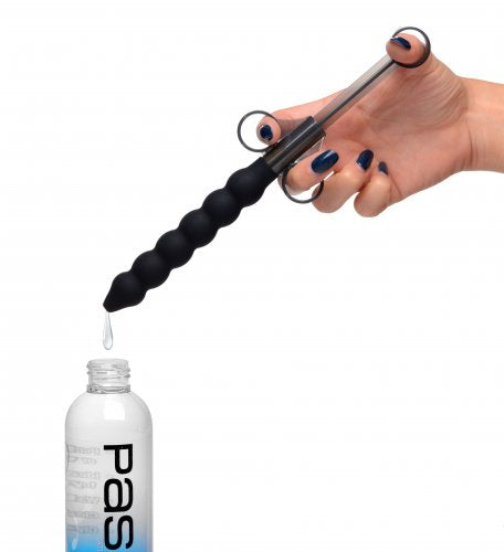 Cleanstream Silicone Beaded Lube Launcher - Black